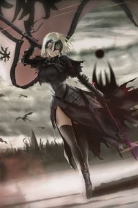 Hunt Time Jeanne Ruler Avenger Fate Grande Order 4k