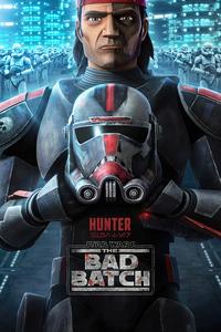 Hunter Star Wars The Bad Batch 4k
