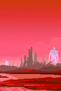 720x1280 Hyper Light Drifter 8bit 4k