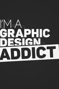 1242x2688 I Am A Graphic Design Addict