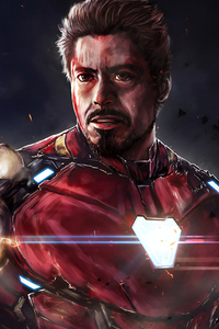 I Am Iron Man 4k Art