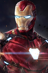 720x1280 I Am Iron Man 4k
