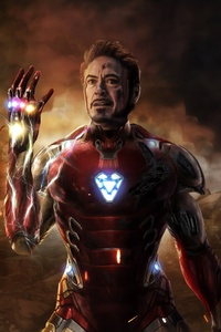320x568 I Am Iron Man Avengers Endgame 5k