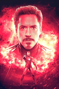 720x1280 I Am Iron Man4k