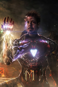 480x854 I Am Ironman 4k