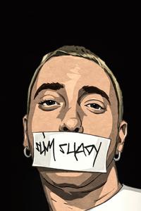 I Am Shady Eminem Art