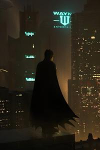 1440x2960 I Care For Gotham City