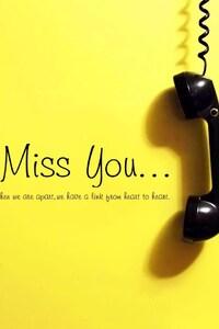 1440x2560 I Miss You