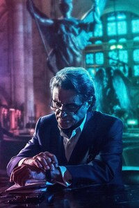 Ian McShane As Winston In John Wick Chapter 3 Parabellum 2019 8K