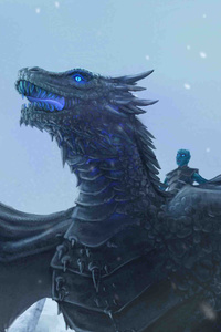 1125x2436 Ice Dragon Game Of Thrones 4k