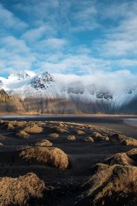 Iceland Blue Sky Nature