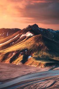 1440x2960 Iceland Sunset 4k