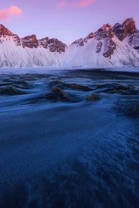1080x1920 Iceland Winters 4k