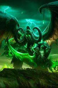 Illidan Stormrag World Of Warcraft Legion 5k