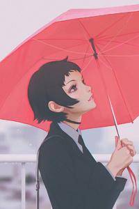 Ilya Kuvshinov Anime Girl With Umbrella