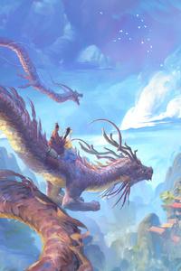 640x1136 In Dragons Land 4k