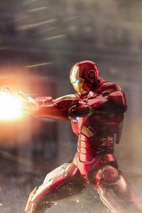 720x1280 Incredible Iron Man 4k