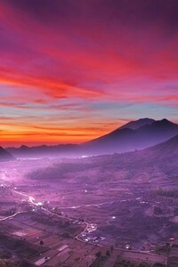1440x2560 Indonesia Landscape Nature