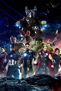 Infinity War Superheroes 4k
