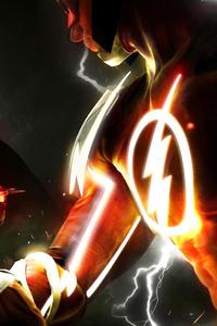 1080x2160 Injustice 2 Fanart Poster Batman Vs Flash 4k