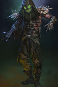Injustice 2 Scarecrow Artwork 4k