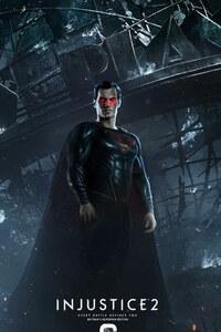 800x1280 Injustice 2 Superman