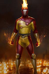 720x1280 Injustice2 Firestorm 4k