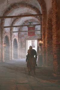 2160x3840 Inside Castle Assassins Creed Origins 5k