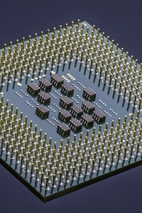 320x480 Integrated Circuit Computer Processor Microchip Technology