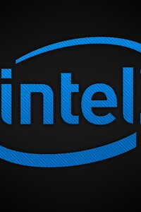 750x1334 Intel Brand Logo