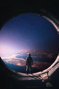 Interstellar Astronaut 4k