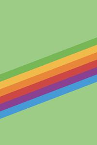 240x320 Ios 11 Heritage Stripe Green