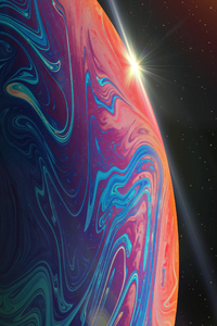 480x854 Ios 13 Abstract Desktop