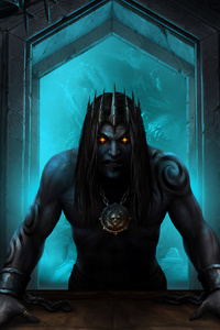 1242x2688 Iratus Lord Of The Dead