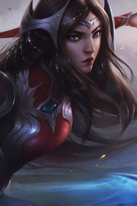 Irelia League Of Legends Art