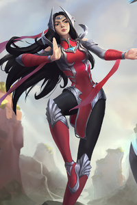 640x1136 Irelia League Of Legends Fan Art 4k