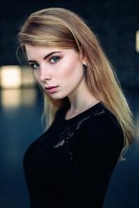 Irina Popova Blue Eyes