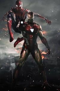 Iron And Spiderman