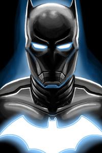 Iron Batman Artwork 4k