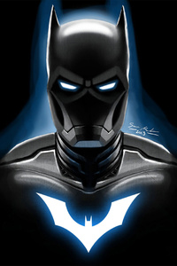 Iron Batman Artwork
