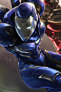 800x1280 Iron Blue Armor
