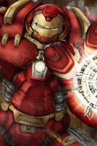 Iron Hulkbuster 4k Art