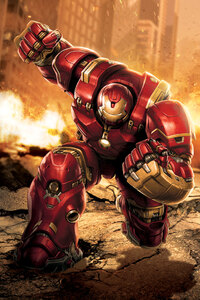 Iron Hulkbuster Artwork