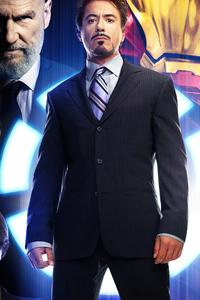 320x568 Iron Man 2008 Poster 4k