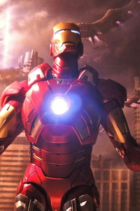 Iron Man 2018 5k Artwork