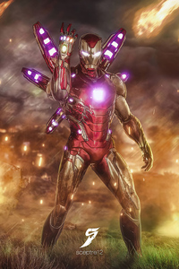 Iron Man 2020 4k Art