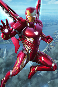 480x854 Iron Man 2020 4k Artwork