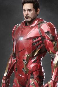 360x640 Iron Man 2020 4k