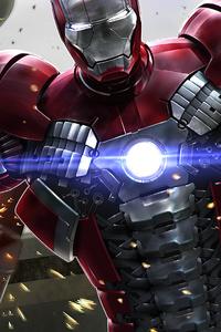 Iron Man 2020 Armor 4k