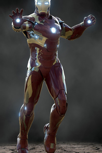 320x480 Iron Man 2020 Art 4k